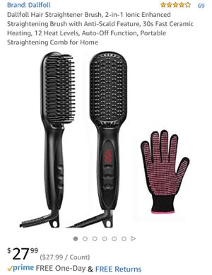 New hair straightener brush for Sale in Silver Spring, MD