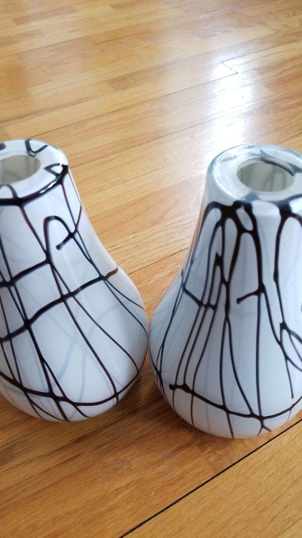 Glass pendants (2)