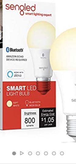 Smart Led Light Bulb x2 for Sale in Virginia Beach, VA