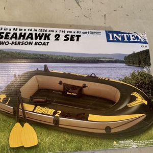 Brand New, In Sealed Box Intex Seahawk 2 Inflatable Boat for Sale in Wareham, MA