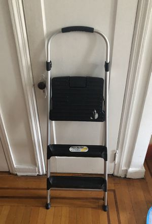 BARELY USED folding ladder for Sale in Brooklyn, NY