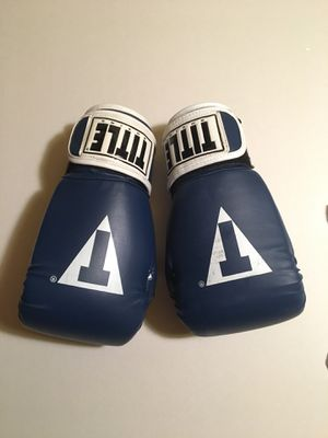 Title boxing gloves for Sale in Alexandria, VA