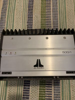 JL Audio 500 Watt Sub Amplifier with sub for Sale in St. Petersburg, FL