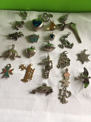 Vintage Sterling silver charm $10 each for Sale in Portland, OR
