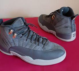 VNDS Men's Nike Air Jordan 12 Retro Dark Grey Wolf Size 11 for Sale in Marietta,  GA