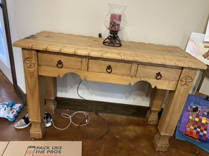 Sofa and end table for Sale in Pflugerville, TX