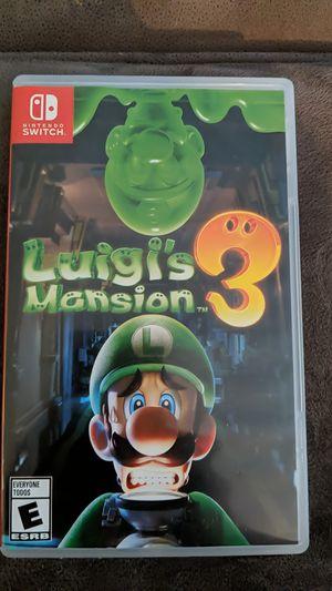 Luigi's Mansion 3 for Sale in San Diego, CA
