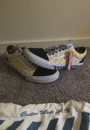 """Custom Vans """"Off the wall"""" for Sale in Bethel Park, PA"""
