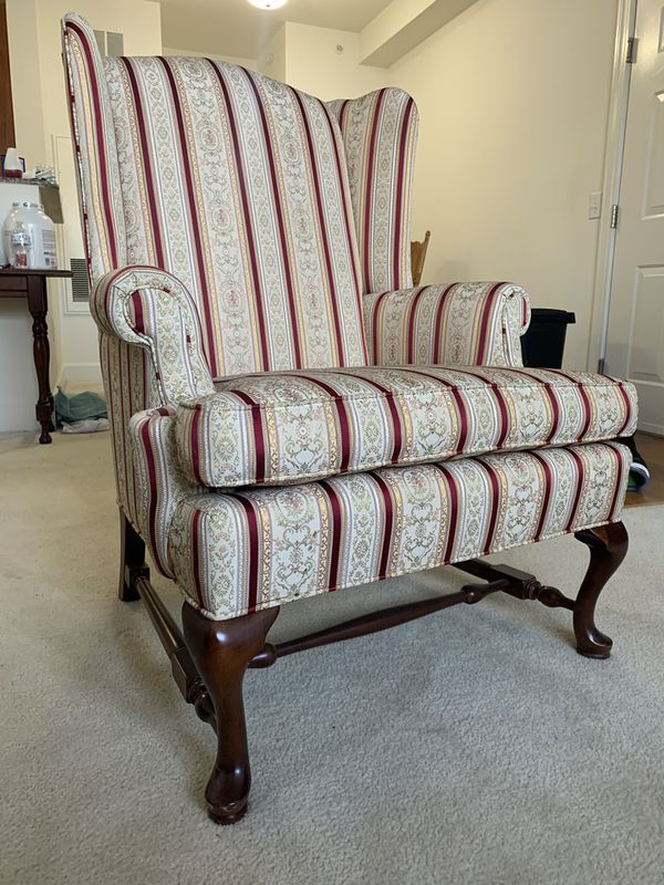 Beautiful Ethan Allen Home Interiors Wingback Chair- Like New!