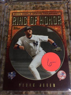Baseball cards, Derek Jeter $20 for Sale in Lomita, CA