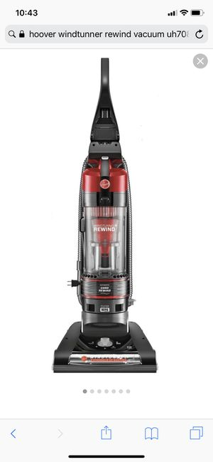 Hoover windtunnel rewind vacuum for Sale in Miami, FL