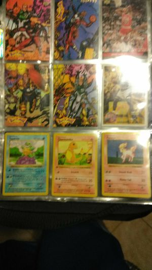 3 1995 Pokemon cards and dragon Ball z cards for Sale in Sterling Heights, MI
