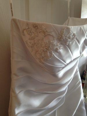 Wedding dress size 14 $100 for Sale in Denver, CO