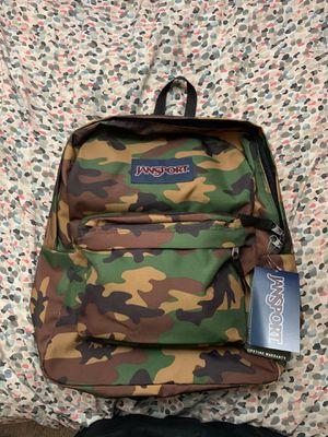 Camo Jansport backpack for Sale in Walnut, CA