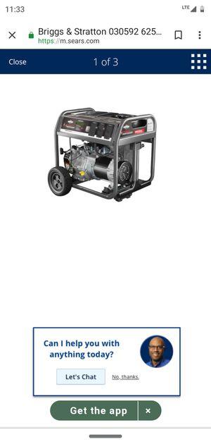 Briggs and Stratton generator for Sale in Lynn, MA
