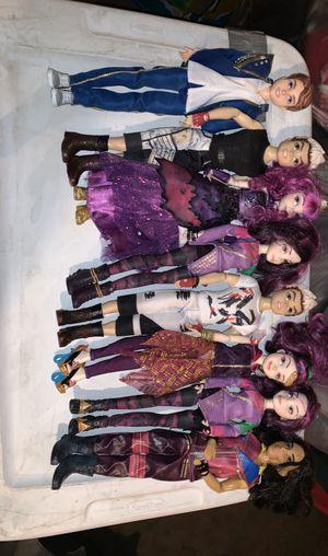 Disney descendants dolls for Sale in Glendale, AZ
