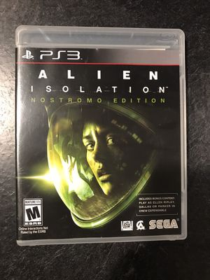 PS3 Alien Isolation (Nostromo Edition) for Sale in Uniontown, OH