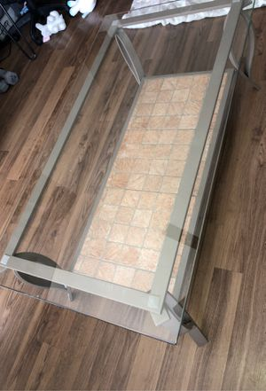 Rectangle Coffee table + End table for Sale in Midvale, UT