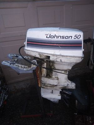 Johnson 50hp outboard motor for Sale in Burien, WA