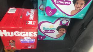 Pampers size 6 for Sale in Miami, FL