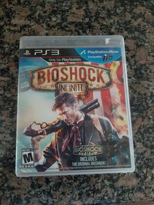 Ps3 bioshock infinite game for Sale in North Las Vegas, NV