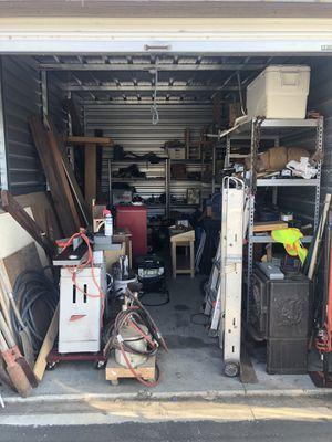 Contents of Storage Container for Sale in San Luis Obispo, CA
