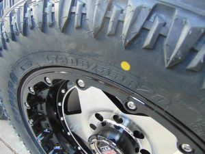 20X10 Centerline Black and Silver Rims LT 305 55 20 Tires *8X170 FORD* for Sale in Aurora, CO