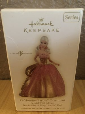 2009 Celebration Barbie Hallmark Keepsake Ornament for Sale in St. Louis, MO