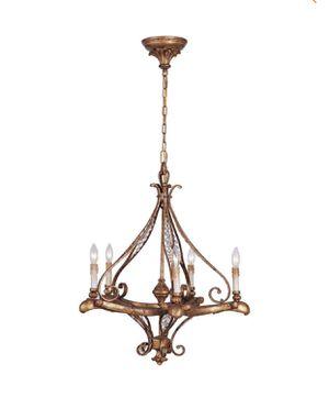 Volume Lighting Baroque 5-Light Dark Iron Interior Chandelier- NEW IN BOX for Sale in San Antonio, TX