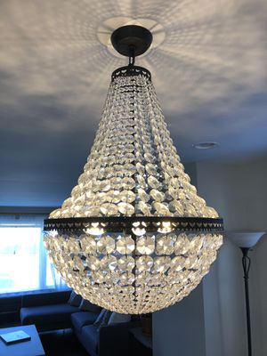 Pottery Barn Crystal Chandelier for Sale in Chicago, IL