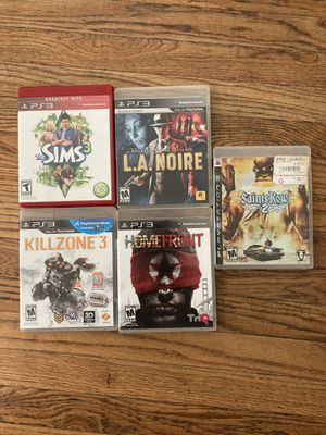 PS3 games for Sale in Monrovia, CA