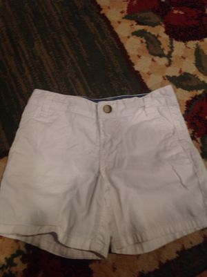 Girl's white shorts for Sale in Sudbury, MA