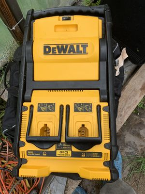 Dewalt IGF protected charging box with lights for Sale in SKOK, WA
