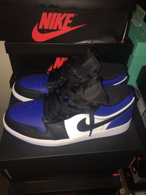 Air Jordan 1 low Royal Blue size 10.5 for Sale in Los Angeles, CA