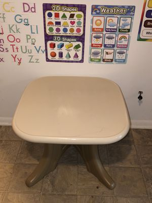 Step2 kids table with two chairs for Sale in Landover, MD