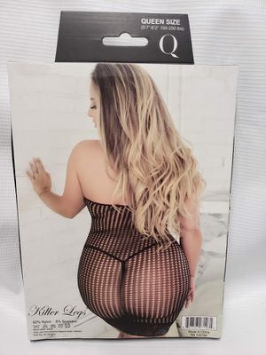 Halter Lace Trim Bodystocking Dress Fishnet NEW for Sale in Kansas City, MO