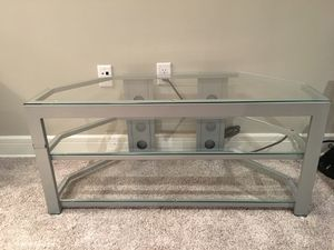 Glass TV stand for Sale in Toms River, NJ