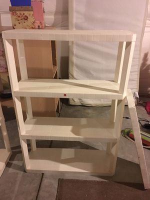 Four-Shelf Plastic Shelf for Sale in Fountain, CO