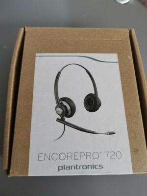 New Plantronics HW720 EncorePro Premium Binaural Over-the-Head Headset w/Noise Canceling Microphone for Sale in Ashburn, VA