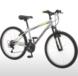 Roadmaster Granite Peak Boy's Mountain Bike, 24-inch wheels, Silver for Sale in Bethesda, MD