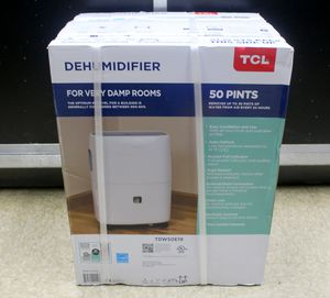 TCL 50 Pint Dehumidifier TDW50E19 for Sale in North Lauderdale, FL