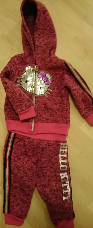 Hello Kitty 12 Month Sweatpants and Jacket for Sale in Renton, WA