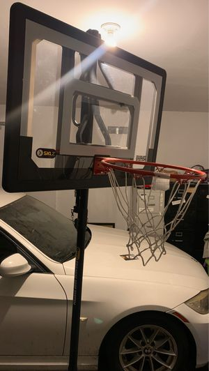 SKLZ Pro Mini Basketball Hoop System with Adjustable Height 3.5 - 7 feet for Sale in Henderson, NV