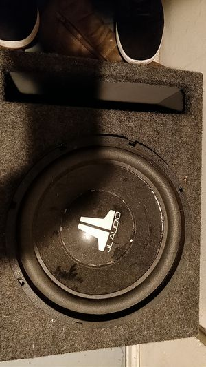 JL w3 subwoofer open to offers for Sale in Denver, CO