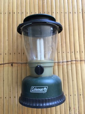 Coleman battery operated lantern for Sale in Honolulu, HI