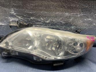2011 2012 2013 Toyota Corolla headlight head light for Sale in Rancho Cucamonga,  CA