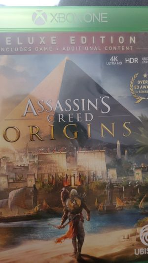 Assassins creed origins xbox one for Sale in Paramount, CA