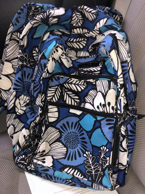 Vera Bradley Iconic Campus Backpack - Blue Wildflower for Sale in Rowlett, TX