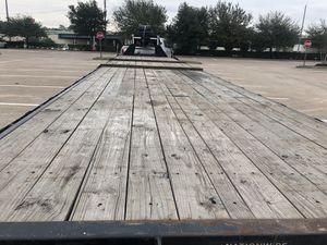 40' gooseneck trailer for Sale in Houston, TX