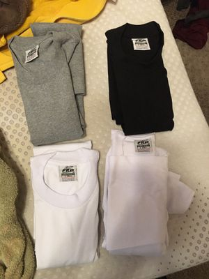 Large tall pro5 shirts for Sale in Oakley, CA